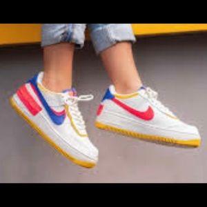 Nike Air Force 1 Shadow Sneakers Mens 11.5